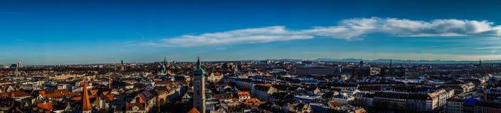 Munich panorama Stock Images