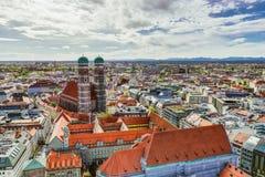 munich panorama zdjęcie royalty free