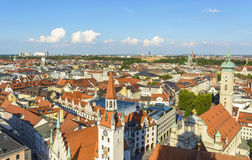 Munich, panoramic view Stock Images