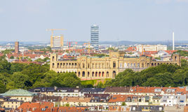 Munich, panoramic view Royalty Free Stock Image