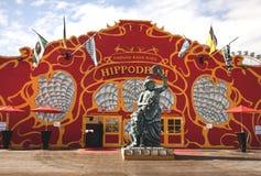 Munich, pavilhão de Frühlingsfest-the Hippodrom Imagens de Stock