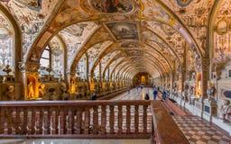 Munich Residenz-museum royaltyfria foton