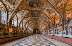 Munich Residenz-museum arkivfoto