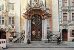 Munich Asam church in Sendlingerstrasse Royalty Free Stock Photos