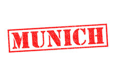 MUNICH. Rubber Stamp over a white background Royalty Free Stock Photography