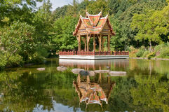 Munich - sala thaï Images stock