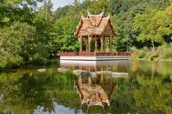 Munich - sala thai. The sala thai, a open tai pavilion, in the westpark of munich Stock Images