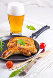 Munich sausages Stock Photography