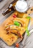 Munich sausages Stock Image