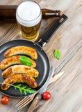 Munich sausages Stock Photo