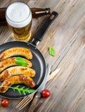 Munich sausages Royalty Free Stock Photo