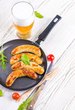 Munich sausages Royalty Free Stock Photo