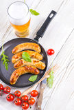 Munich sausages Stock Photography
