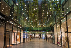 Munich, shops in Salvatorpassage Royalty Free Stock Photo