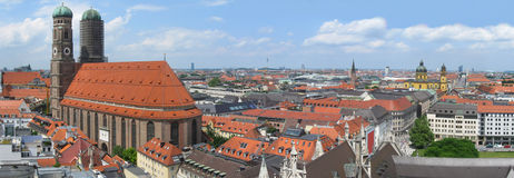 Munich skyline Stock Image