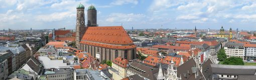 Munich skyline Stock Photography