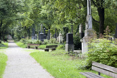 Munich south cemetery Royalty Free Stock Images