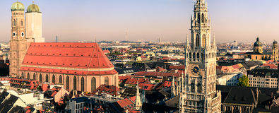 Munich stadssikt Royaltyfri Foto