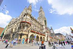Munich Streets Royalty Free Stock Photography