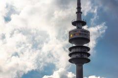 Munich televisiontorn Fotografering för Bildbyråer