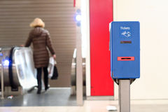 Munich ticket validator Royalty Free Stock Images
