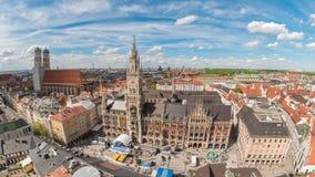 Munich Time Lapse stock footage