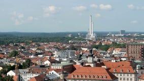 Munich, tir aérien banque de vidéos