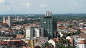 Munich, tiro aéreo metrajes