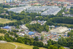 Munich Tollwood Summer Festival Royalty Free Stock Photography