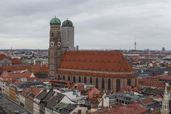 Munich from the top Royalty Free Stock Images