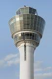 Munich tower. Munich airport flight control tower Stock Images