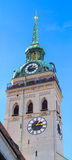 Munich, Tower of Saint Peter Church, Bavaria Royalty Free Stock Images