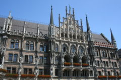 Munich Town Hall stock image