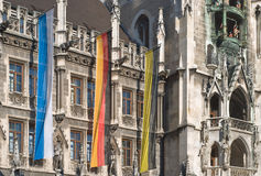 Munich Town Hall Royalty Free Stock Photo
