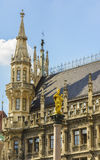 Munich Town Hall detail Stock Photography