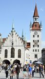 Munich Town Hall Stock Images