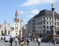 Munich Town Hall Stock Image