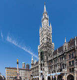 Munich Town Hall and Marienplatz Germany Royalty Free Stock Photos
