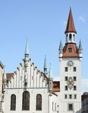 Munich Town Hall Stock Photography
