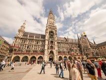 Munich townhall Stock Photo