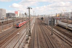 Munich tracks Royalty Free Stock Images
