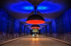Munich tunnelbana Royaltyfri Bild