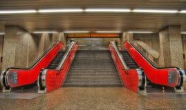 Munich tunnelbana Royaltyfria Foton