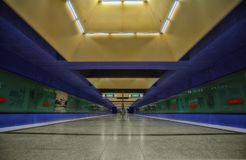 Munich tunnelbana Royaltyfri Foto