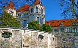 Munich Tyskland, bayerskt nationellt museum Royaltyfri Fotografi