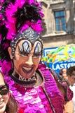 Utklädd deltagare av den Christopher gatadagen i Munich Royaltyfri Bild