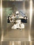 MUNICH - TYSKLAND, JUNI 17: BMW Victoria Werke Engine Shown i BMW Royaltyfri Fotografi