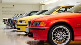 Munich Tyskland - Maj 29, 2014: BMW museum arkivbild