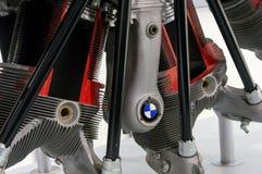 Munich Tyskland - mars 10, 2016: Plan motor i BMW museet Royaltyfria Bilder
