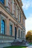 Munich Tyskland - Oktober 20, 2017: Byggnad av Alte Pinakothek Royaltyfri Foto